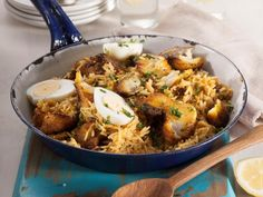 Fish breyani • A fragrantly spiced meal that's big on flavour! You can subsitite the hake with any fish of your choice.