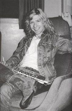 Steve Clark of Def Leppard - NICE guy mommy had pleasure of gettings to know one evening.