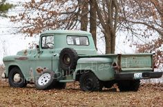 Chevy Truck 1957 Fine Art Photography 8x12 by Simplesubtletiesart, $30.00