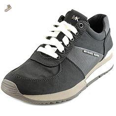 Michael Michael Kors Allie Trainer Women US 9.5 Black Fashion Sneakers - Michael kors sneakers for women (*Amazon Partner-Link)