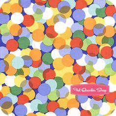 Nursery Fabric: Fatquartershop.com - Kids by Michael Miller Fabrics - Primary Spotlight SKU# CX1400-PRIM-D $10.75