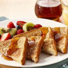 Vanilla extract and cinnamon bring a richness of flavor to French toast. Pick your favorite bread - white, Italian, French or whole wheat. Serve with Maple-Flavored Syrup.