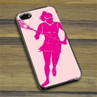 Lacrosse iPhone/Galaxy Case Lacrosse Girl - This customizable protective case is the perfect accessory for any lacrosse player's phone. Fits the iPhone 4, iPhone 4S, iPhone 5, iPhone 5S, Galaxy S3, and Galaxy S4.