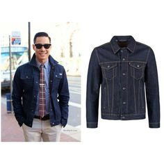 The word denim is a French word for Genoia where the first Jeans were made every fashionista's needs a denim jacket in their collection #streetwear #mensfashion #menstyle #blackpelicianapparel...