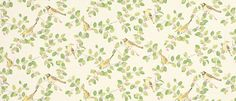 Aviary Garden Apple Green Cotton Mix Patterned Curtain Fabric at Laura Ashley Laura Ashley Curtains, Laura Ashley Fabric, Draped Fabric, Curtain Fabric, Ashley Home Furnishings, Laura Ashley Usa, Front Room Decor, Made To Measure Blinds, Cotton Curtains