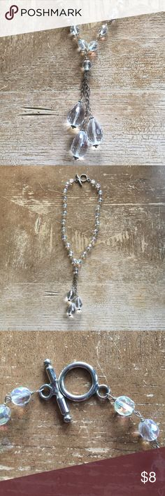 Necklace silver and Chrystal ❤️ Necklace silver and crystal ❤️ Jewelry Necklaces