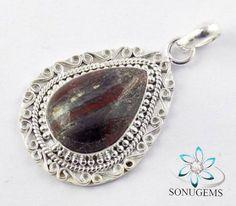 Solid 925 Sterling Silver Natural Gemstones Natural by SONUGEMS