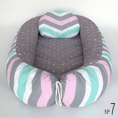 Infant Cot Baby Nest Organic babynest bed for newborn by MomsLoveShop Snuggle Nest, Baby Nest Bed, Pattern Baby, Baby Corner, Co Sleeper, Baby Cocoon, Baby Pillows, Decor Pillows, Organic Baby
