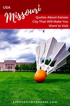 From sports and entertainment to the arts and its world-famous barbeque, these quotes about Kansas City will make you want to visit right now | Kansas City Missouri | Kansas City Kansas | Kansas City Things to do in | Kansas City Chiefs | Kansas City Art | Kansas City Attractions | Kansas City Architecture | Kansas City BBQ | Kansas City BBQ Sauce | Kansas City Bucket List | Kansas City Eats | Kansas City Royals | Kansas City Food #kansascity #missouri #kansas #us #usa #ustravel