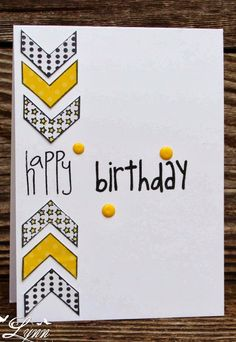 Creative Crafts by Lynn: Teen Birthday - Card ideas - Creative Crafts by Lynn: Teen Birthday - Homemade Birthday Cards, Birthday Cards For Boys, Bday Cards, Teen Birthday, Happy Birthday Cards, Homemade Cards, Birthday Crafts, Card Birthday, 16th Birthday