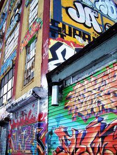 Photography Art of 11x14 Brooklyn Graffiti by DangerousLiving, $30.00