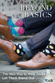 Looking to add a little color to your wardrobe? These colorful Happy Socks are the perfect combination of comfort and style. Bold and playful, this pair makes a cool addition to your day-to-night collection! Get happy and find your pair at Belk.