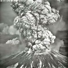 Mt St Helens May 18, 1980.  Such devastation, there was ash on everything for miles around, it looked like someone had covered our cars in grey talcum powder.