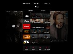 Apple TV Guide for iOS by Bryce for Handsome