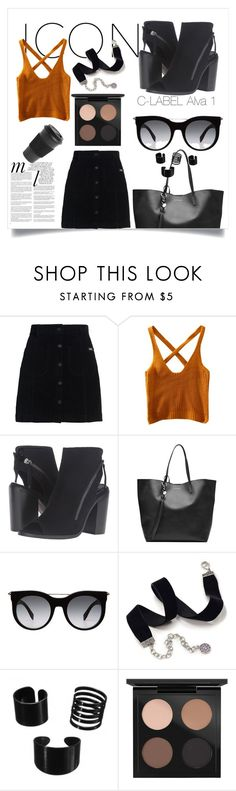 """""""C-LABEL Alva 1"""" by clabelfootwear on Polyvore featuring Superdry, C Label, Alexander McQueen, Whiteley, Sweet Romance, MAC Cosmetics and Homage"""