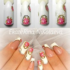 #мкногти #мк #мастеркласс #пошаговыйдизайн #mknogti #mk #nails #nailart #manicure