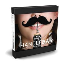The Handlebar Mustache Corkscrew & Beer Bottle Opener Handlebar Mustache, Wine Bottle Opener, Wine And Beer, Sell Items, Fathers Day Gifts, Unique Gifts, Design, Bunco Ideas, Friends