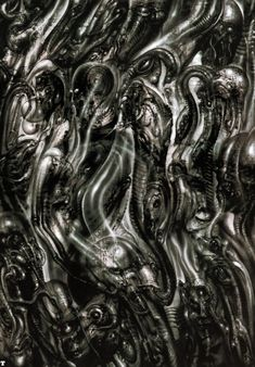 Giger is an artist I truly admire. His work is Dark, disturbing and twisted yet erotic and beautiful at the same time. My favourites are his Biomechanical landscapes.