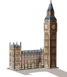 Big Ben Puzzle and thousands more of the very best toys at Fat Brain Toys. Create Big Ben and the House of Parliament with 890 foam-backed puzzles pieces. They snap together intricately yet easily to build beautiful scale m.