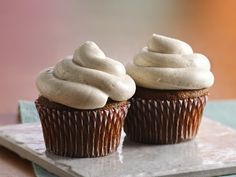 This easy pumpkin cupcake recipe is one of our fave ways to do pumpkin spice, and it's the perfect way to use up any extra cans of pumpkin in the pantry. Pro tip: Keep an eye on your pan while making the sugared nuts—and make sure to use a heavy skillet and a low flame so they cook evenly and don't burn.