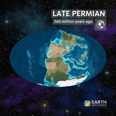 The Late Permian seen here 260 million years ago was the Age of Reptiles. The…