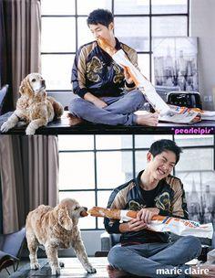 Song Joong Ki - Marie Claire Magazine June Issue '16 Soon Joong Ki, Lee Joong Ki, Descendants, Korean Celebrities, Korean Actors, Song Joong Ki Cute, Descendents Of The Sun, A Werewolf Boy, Sungkyunkwan Scandal