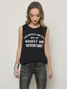 931fd751 Gypsy Warrior - Whiskey and Adventures Sir Mix A Lot, Muscle Tank Tops,  Netflix
