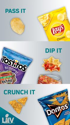Are you ready for some playoff football? Score a bag or two of your favorite chips and touchdown dance all the way back to your couch to catch the action. Frito Lay, Chunky Salsa, Food Banner, Chips And Salsa, Valentines Gifts For Boyfriend, Ads Creative, 300 Calories, Starbucks Drinks, Easy Snacks