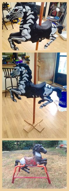 Im loving the skeleton horse.... Do you think we could use it as a decoration?