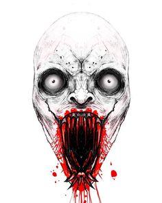 Scary Stories, News Stories, Horror Stories, Off The Wall, Mendoza, Vampires, Skull, Corner, Tattoo