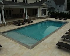 This Beach Entry / Zero Entry Goes Around This Spa To The Rest Of This  Custom Gunite Pool. {BEA} Legendary Escapes (15) | Pinterest | 15., Gunite  Pool And ...