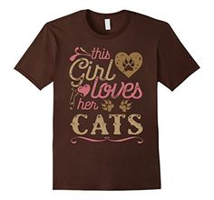 Cat T-Shirt - This Girl Loves Her Cats. Do You Love A Few Too? Cats cute, cats funny, cats clothes, cats and kittens, cats shirt, cats gifts, cats girl, cat shirts for men, cat shirts for women, cat tshirt, cats tshirt, cat tee, cat tee shirt, funny cat, funny cats, cute cat, cat tips, cat memes, cats memes, cat humor, cats humor, cat stuff, cat mugs, cats shirt, cats tshirt, cats clothes, cats mug, cats, #roninshirts