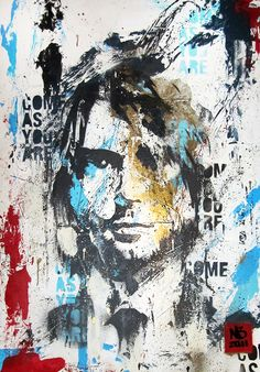 Kurt cobain picture art Nirvana