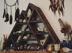 So stoked on this new shelf I got today from @wayfaringstrangeroutfitters  Now I have a place to put all my crystals thanks Seth!  #woodwork #crystalshelf #altar crystals #crystallove #metaphysical #gems #geology #energyvibes #minerals #crystalhealing #quartz #nature #mandala #energy #naturalstone #crystalspecimen #sacredgeometry #goodvibes #fpme #crystalvibes #chakra #quartz #spiritquartz #yogi #mandala #bepresent #mindfullness #hippiespirit #crystalring de sacred.geometry_