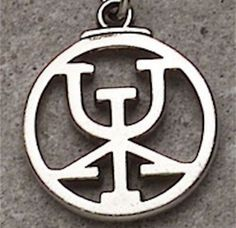 ATTRACT RICHES RUNE Pendant ICELANDIC MAGICK Necklace Galrastafir Binding Rune