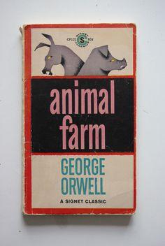 George Orwell, 'Animal Farm' | Signet Classics | #bookcover