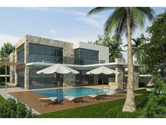 #New_for_2015 This stunning contemporary villa is due for completion in May 2015. In a quiet location set on the hills just 10 minutes from Kas Village and offering stunning sea views.for more info please call us 0090 534 052 0030.