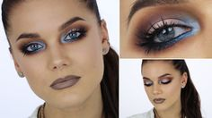 Electric Blue (with subs) - Linda Hallberg Makeup Tutorials