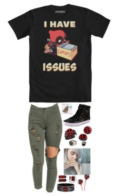 """Dead pool"" by dark-jewel ❤ liked on Polyvore featuring Rebecca Minkoff, Disney, women's clothing, women's fashion, women, female, woman, misses and juniors"