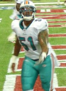 As a 5th year's option Mike #Pouncey picked by #Miami #dolphins. #NFL still to decide punishment for harassment #scandal