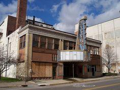 OH Springfield - Regent Theater by scottamus, via Flickr.  Fantastic album of abandoned Ohio buildings...I'm thinking road trips