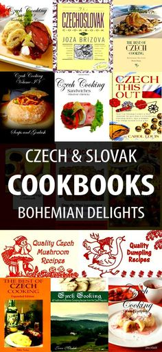Czech and Slovak cooking is gaining popularity with each passing day. Both the Czech Republic and Slovakia are noted for their hearty, delicious and wholesome meals. The food staples are provided principally by farmland, and include milk, cheese, livestock, wheat, fruit and root vegetables. Czech and Bohemian cookbooks and recipes are provided here so that you can be inspired to try the foods from the region.
