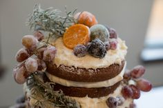 Naked cakes are great for Autumn and Winter!