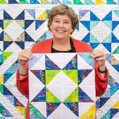 Quilting should be fun and we give you easy quilting projects, quick quilting how-to tutorials, and commentary to keep you smiling till the very last stitch. Star Quilt Blocks, Star Quilt Patterns, Star Quilts, Easy Quilts, Block Quilt, Quilting For Beginners, Quilting Tutorials, Quilting Projects, Msqc Tutorials
