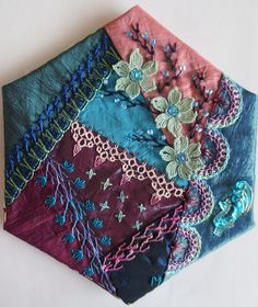May block for CQJP 2014 by Margareet de Reus (Holland/The Netherlands)