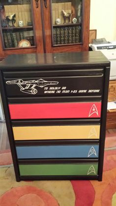 To boldly go where no dresser has gone before