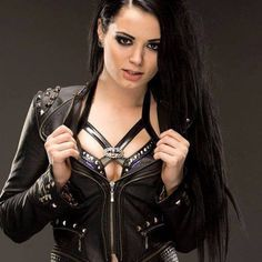 WWE Diva Paige NXT Black Leather Studded Biker Womens Jacket 3 September 09 2017 at free cams xxx in Tampa USA sex porn Divas Wwe, Wwe Divas Paige, Paige Wwe, Watch Wrestling, Wrestling Divas, Women's Wrestling, Saraya Jade Bevis, Paige Knight, Wwe Brock