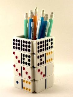 Upcycling Keyboard • Recycled Ideas | Pencil holders ...