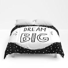 dream big Comforters Twin Xl, Dream Big, Comforters, Pattern Design, Creature Comforts, Blanket, Duvet, Bed Covers