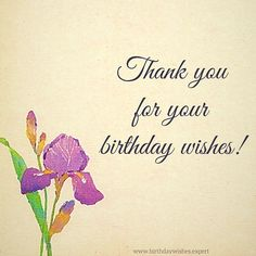 Thank You For Your Birthday Wishes Thanks Happy Quotes